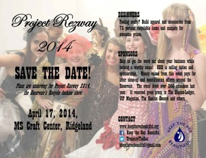 Save the Date!  April 17, 2014